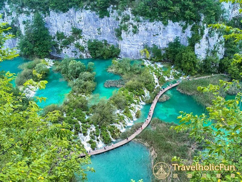 Plitvice Lakes View