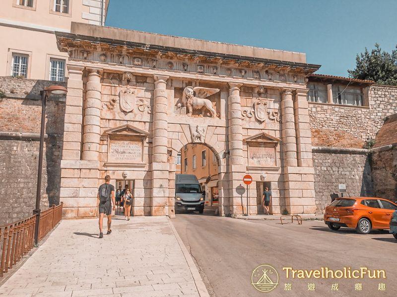 Zadar 舊城門