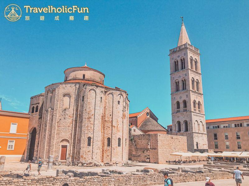 Zadar 聖多納圖斯教堂