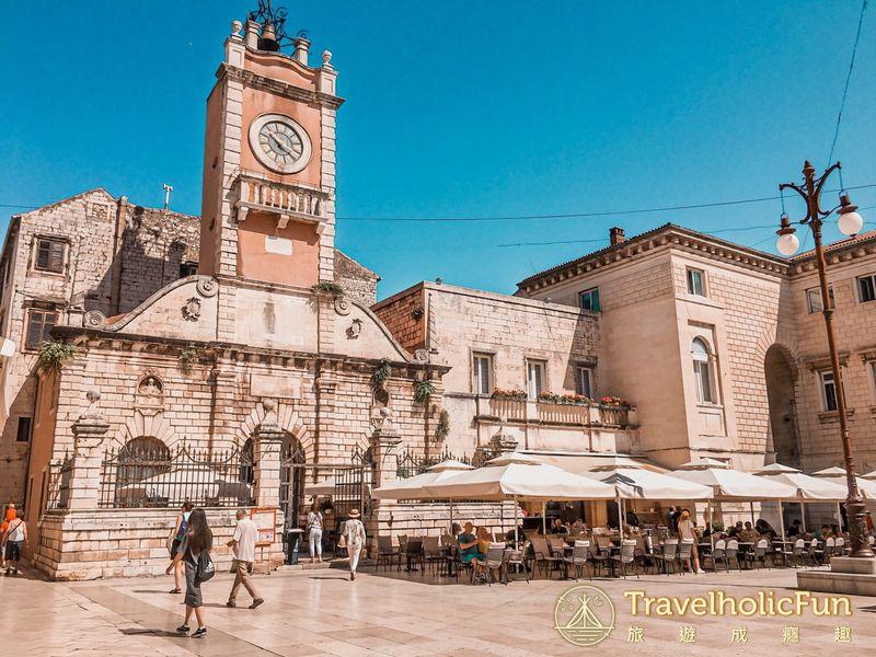 Zadar 人民廣場