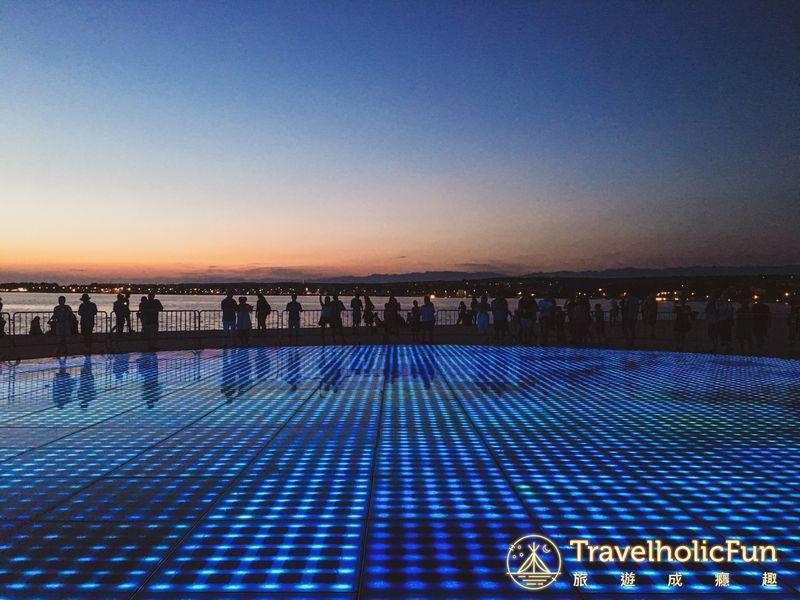 Zadar 向太陽致敬