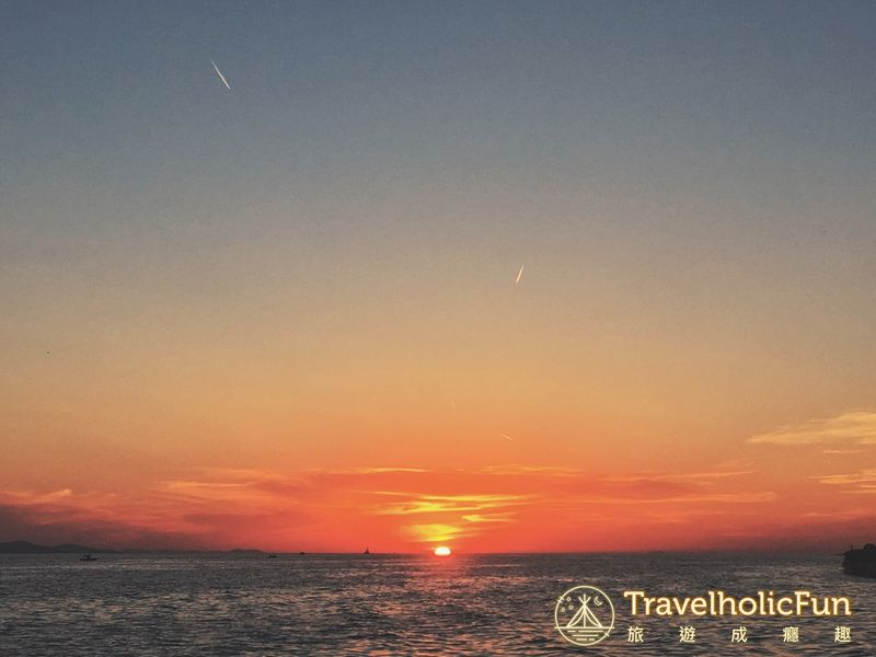 Zadar 夕陽