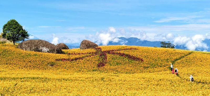 赤柯山三巨石