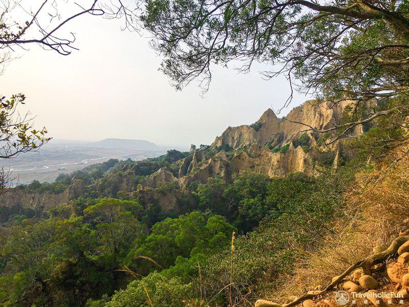 火炎山步道景觀