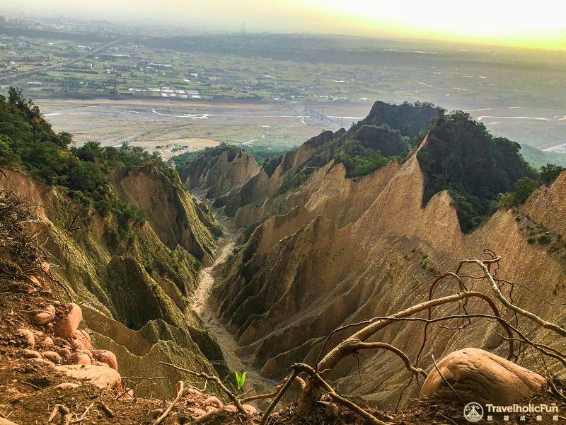 火炎山步道大峽谷