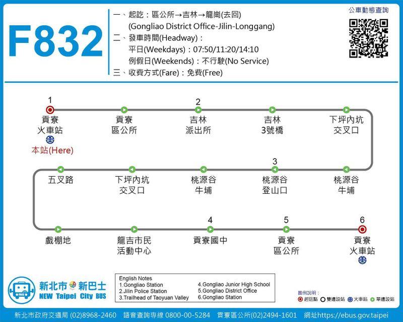 F832公車路線圖
